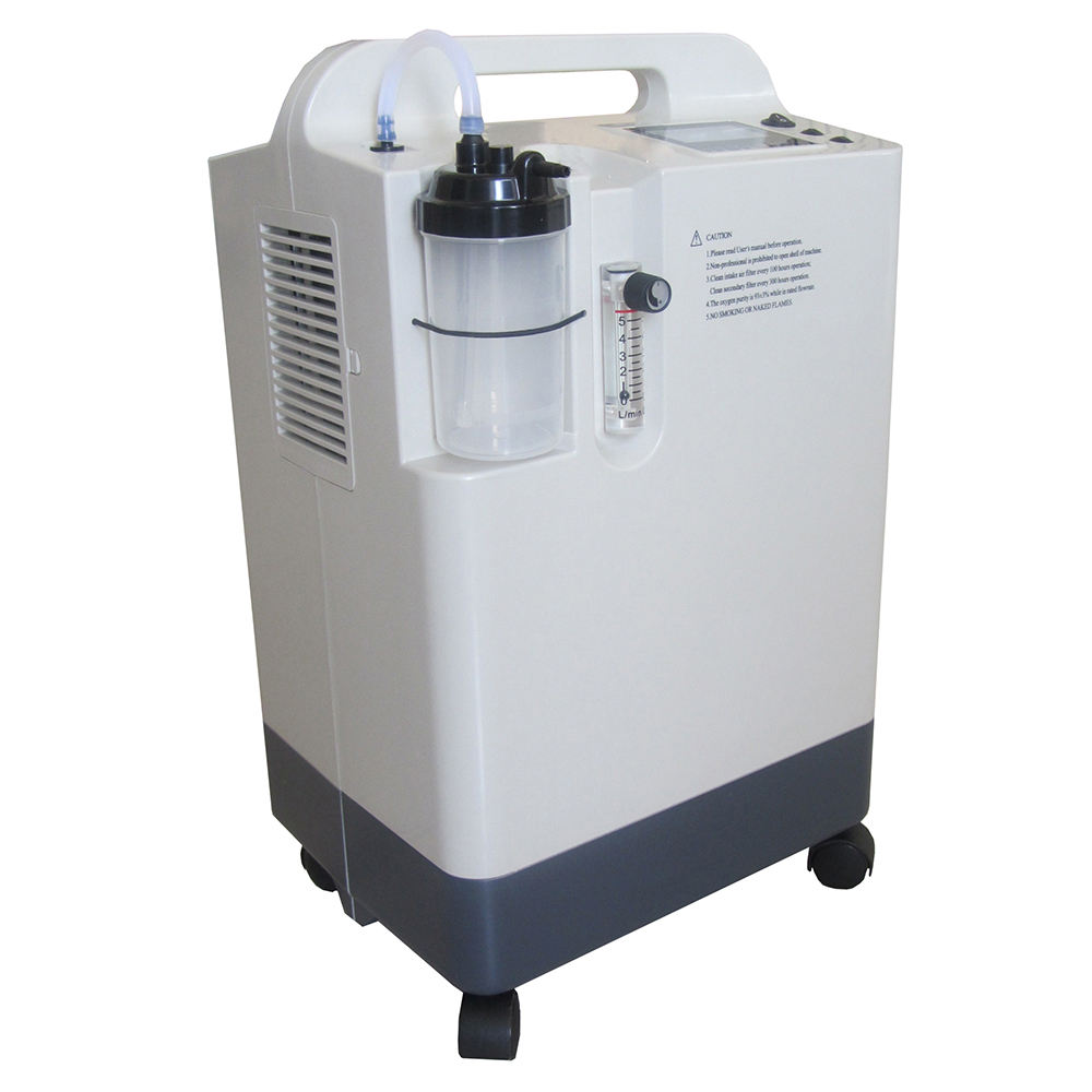 High Quality Oxygen Generator Medical 3L 5L 8L 10L Hospital and Home Use High Pressure Dual flow Mobile Oxygen Concentrator