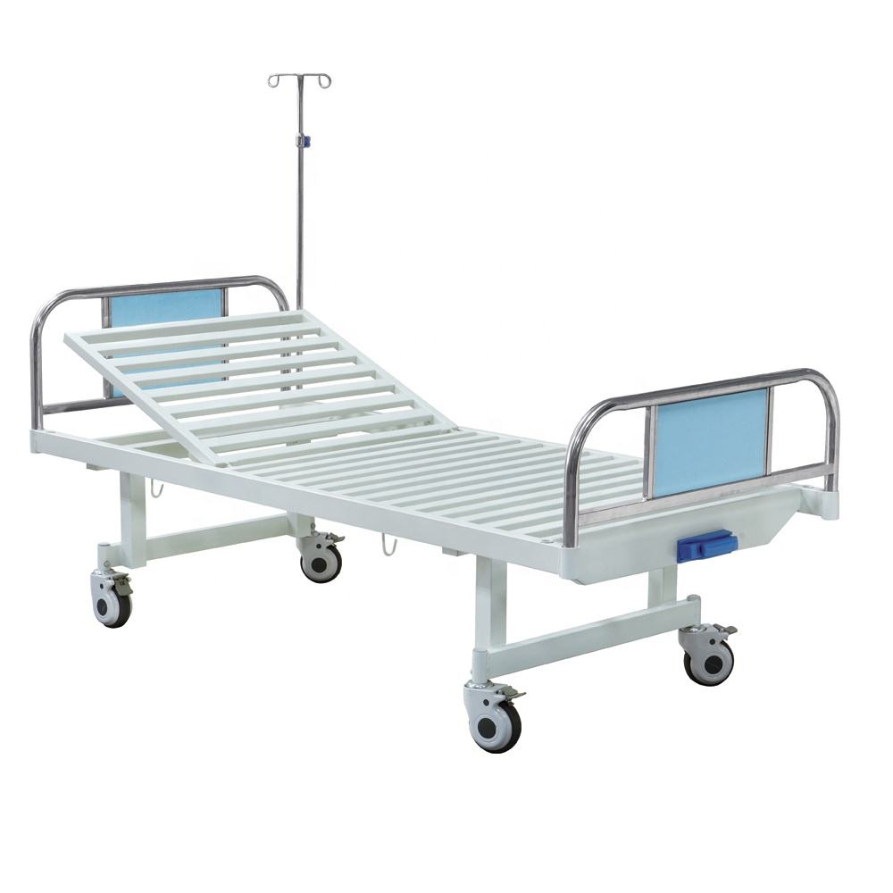 Hospital bed beds ICU medical price prices used manual nursing patient acare orthopedic adjustable BS-817