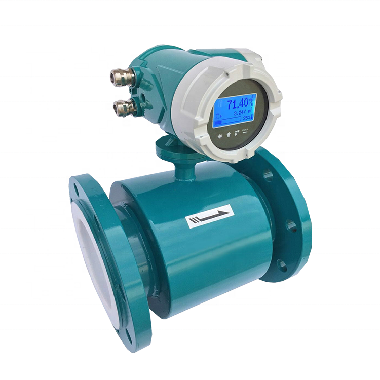 4-20ma output 2 inch water digital magnetic flow meter price