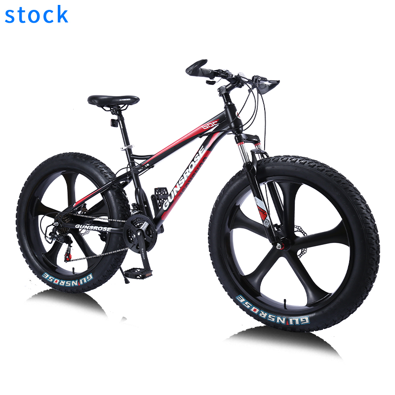 hot sale fat bike big boy gunsrose wheels bisiklet tire green frame 26er size mountain 28 bicycle woman fat bike