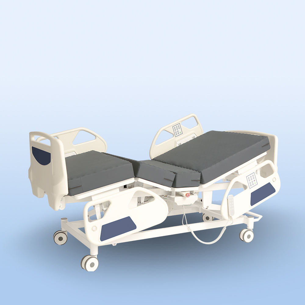 Coinfycare JFD49 CE/ISO/FDA factory direct hand control hospital bed of hospital equipment