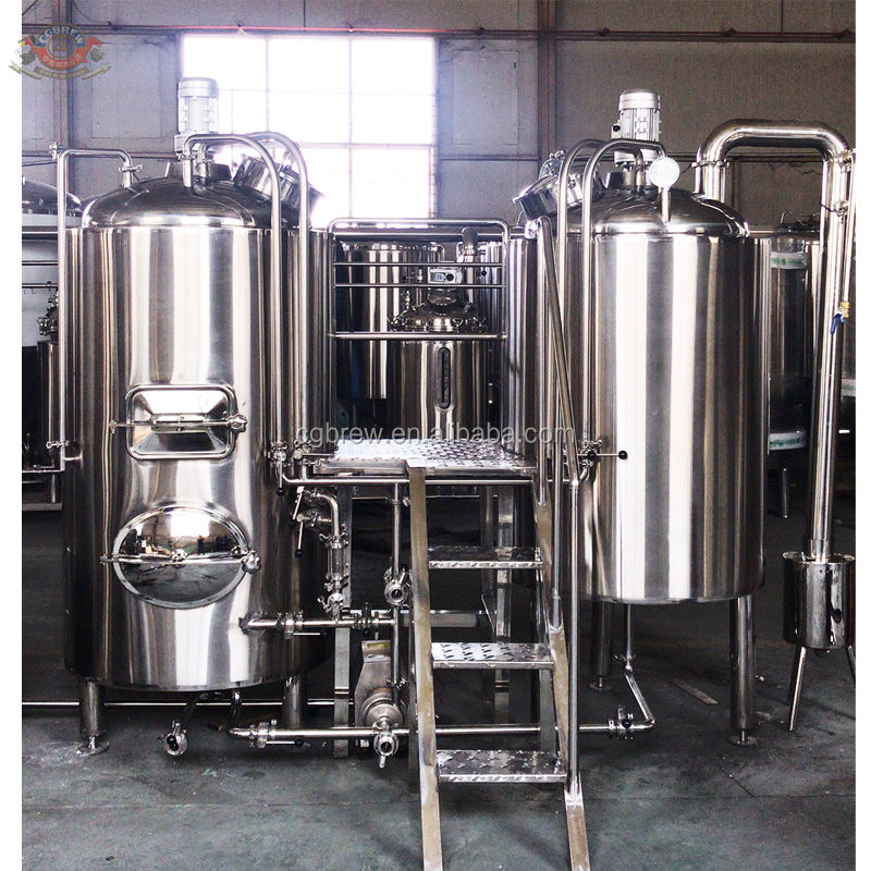 500L Microbrewery Equipment Craft Beer Production Machine