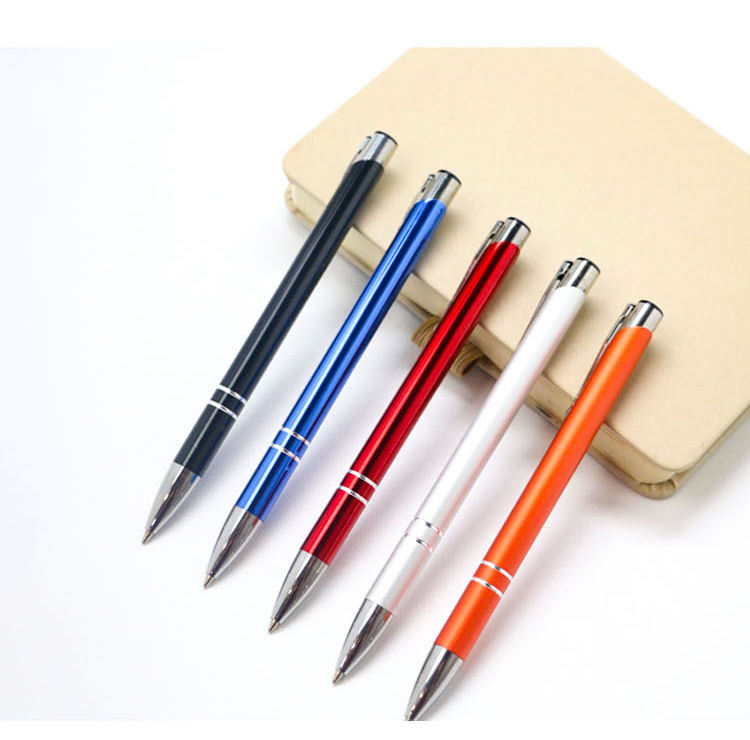 Promotional Custom Ball Pens Oem Ballpoint For Hotel Gift Promotion 0.5mm Gel Pen