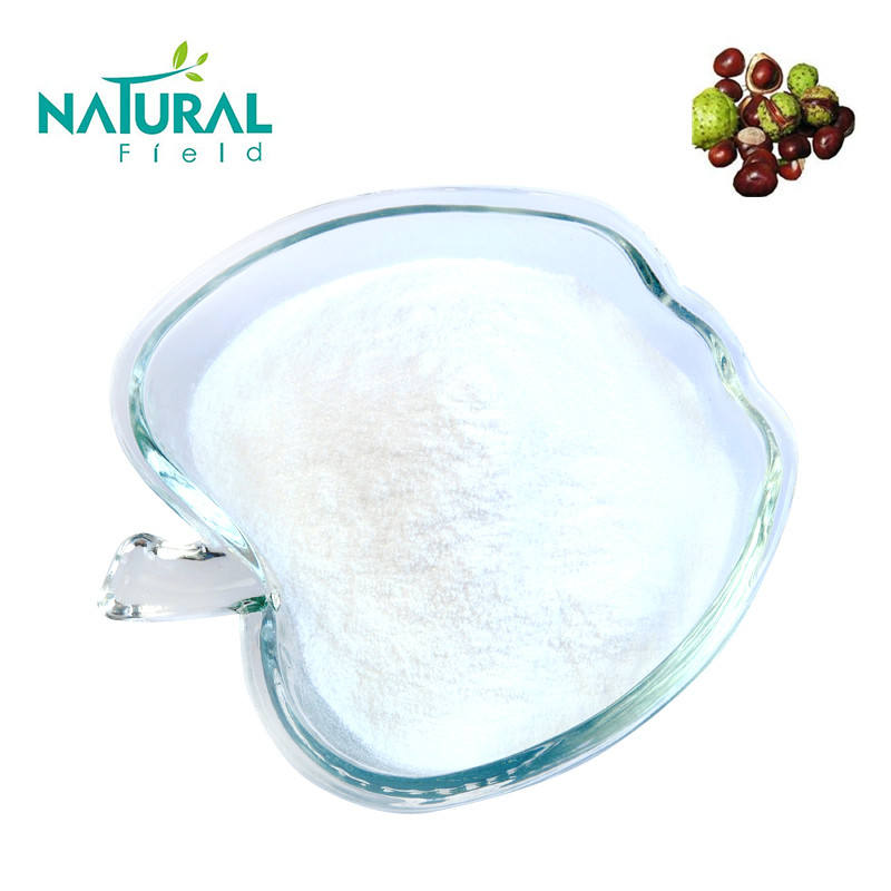 Factory supply 98% Aescin Aescine horse chestnut extract powder from Natural Field