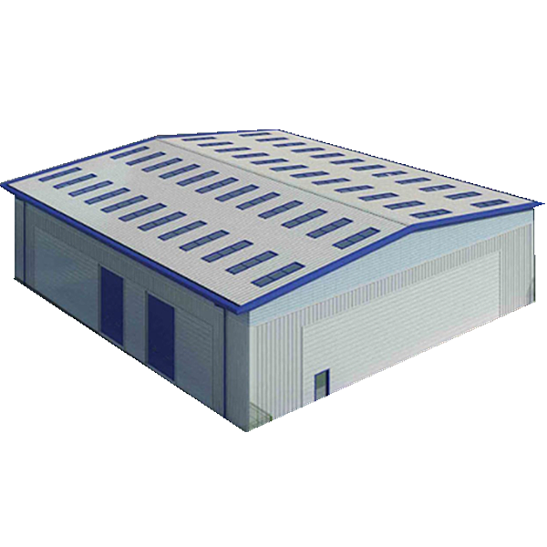 Multi-Floor STK500 Steel Structure Buildings Prefab Steel Workshop/Warehouse