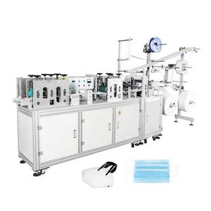 High Quality Sergical Face Mask Production Line Ultrasonic Mask Ear Welding Machine Semi Automatic Mask Making Machine
