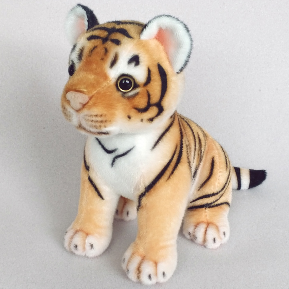 New designing plush stuffed toy cute tiger lion leopard panther 22CM