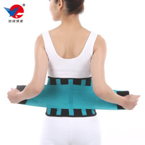 CE approved Adjustable Elastic Double Pull Working lumbar belt relieve pain back brace waist support