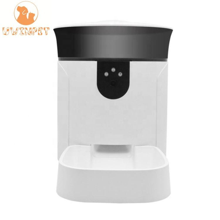 Smart Automatic Pet Feeder Food Dispenser Pet Camera Dispenser with 1080P HD Camera night version