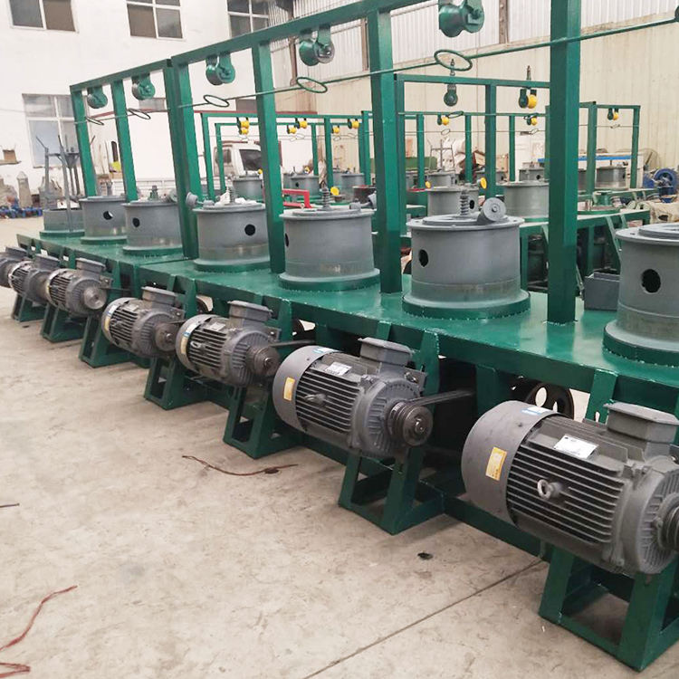 Factory Price Continue Pulley Copper Annealing Wire Drawing Machines For Nails Wires Extension
