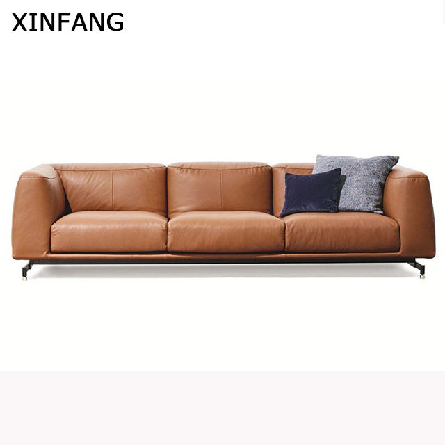 Modern leather sofa seat sofa guangzhou furniture leather living room sofas