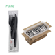 FDA certificated wrapped black heavy weight plastic cutlery pack disposable spork plastic fork and knife
