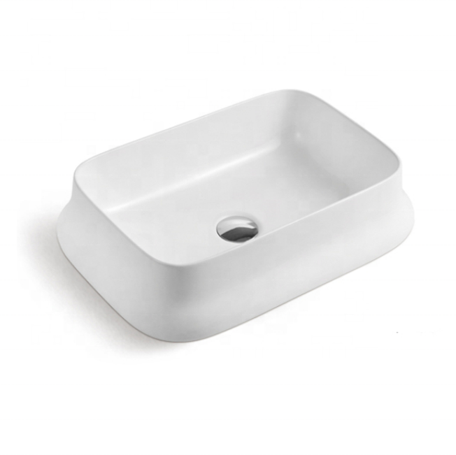 Popular Style Art Basin Bathroom Design table top sink
