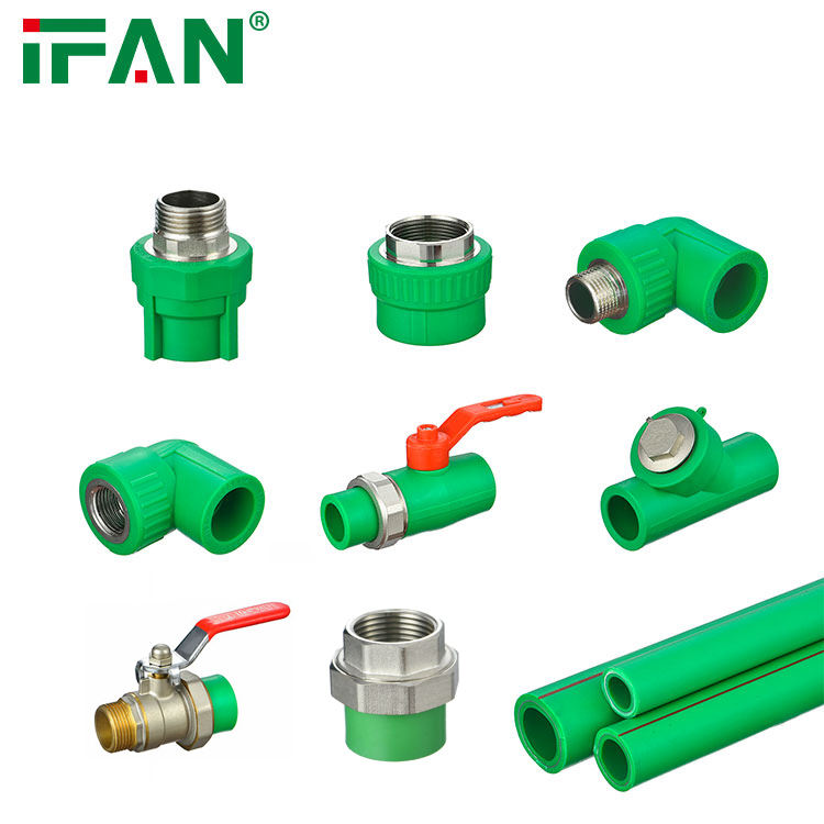 Ifan Hoge Kwaliteit Ppr Valve Met Ppr Dubbele Unie 32Mm <span class=keywords><strong>Messing</strong></span> Lichaam <span class=keywords><strong>Messing</strong></span> Core Factory Prijs