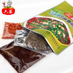 Tasty and spicy Sichuan flavour seasoning sauce fish sauce for fish cooking