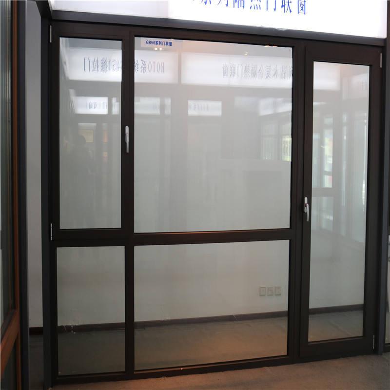 Glass Aluminum Doors and Windows with Aluminum Alloy Frame Sliding Tempered Laminated Double Triple Glazed Window Door Price