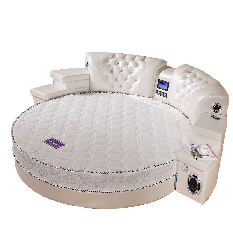 Hot-selling modern European style multifunctional massage bed round with storage massage functions