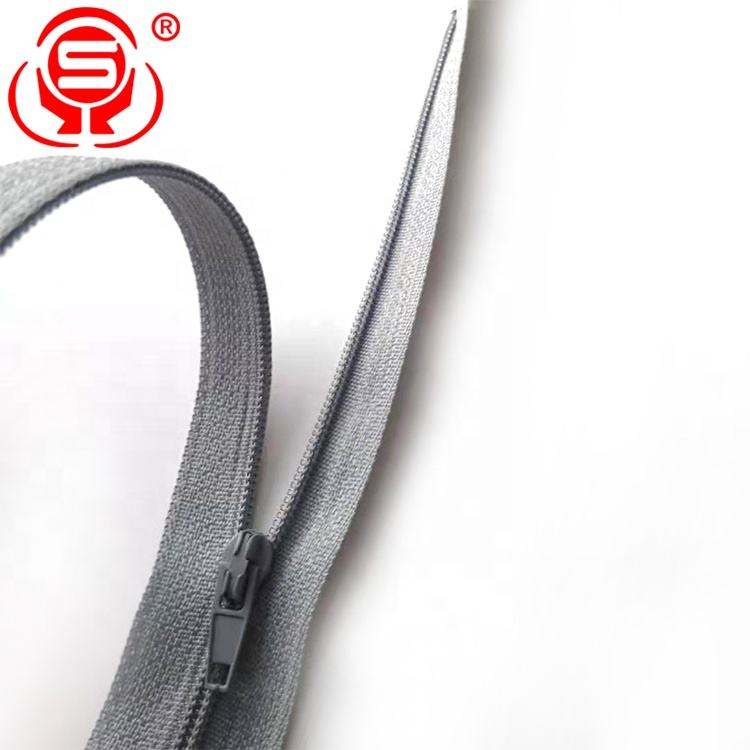 Reversible Nylon Coil Zippers Bulk for Tailor Sewing Single Open Custom Logo Sewing Zipper Company