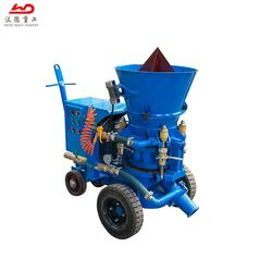 Variable Output Electric motor refractory small shotcrete machine for sale for Kuwait