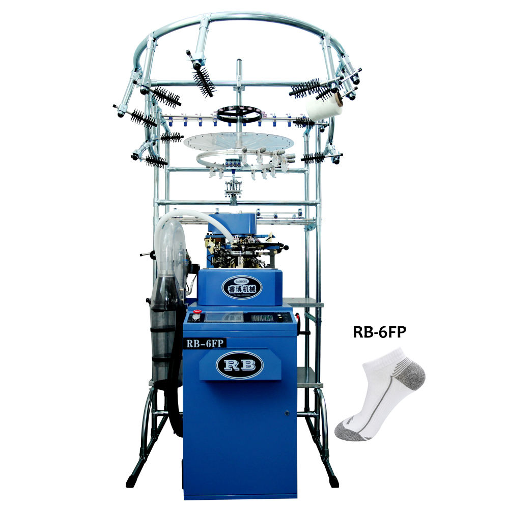 popular in italy spare parts available 6f automatic computerized sock knitting machine cheap price for making hosiery sale