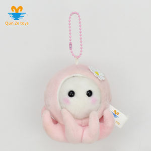Factory Customized variety of mini small plush octopus toys reversible plush toy