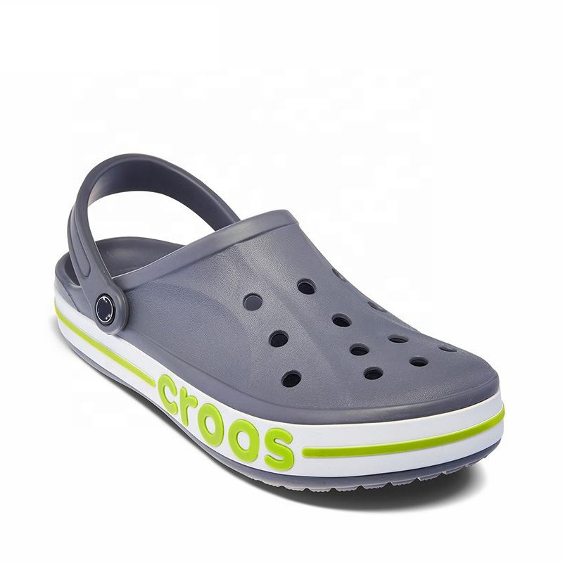 Hot Sale EVA Men Clog Crocks Crocse Holes Mules Injection Shoes Sandalias For Male
