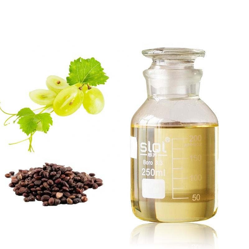 Wholesale price cold pressed Grape seed oil _8024-22-4