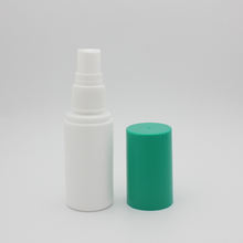 Factory Outlet Medical Blue big cap plastic lateral 60ml spray packaging bottle for pharmaceutical