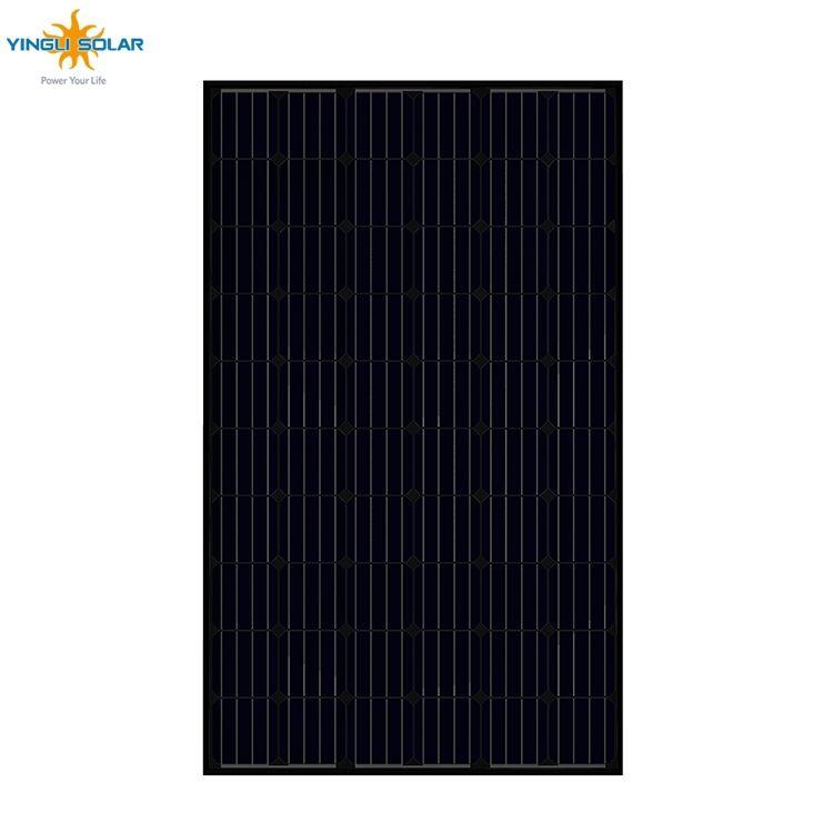 Fornitura Yingli 60 celle pannello solare mono ad alta tensione 30 v 280 W 290 W 300 w monocristallino pannello solare prezzo india