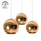 Copper Pendant E27 Pendant Lamp Chinese Products High Quality Silver Copper Glass E27 Cafe Pendant Lamp