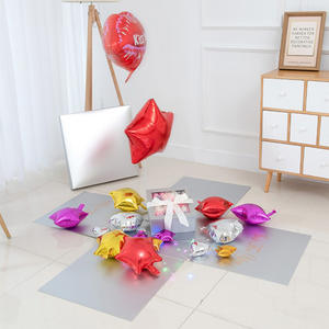 Factory Wholesale Luxury 50x50x50cm Paper Surprise Balloon Box For Love