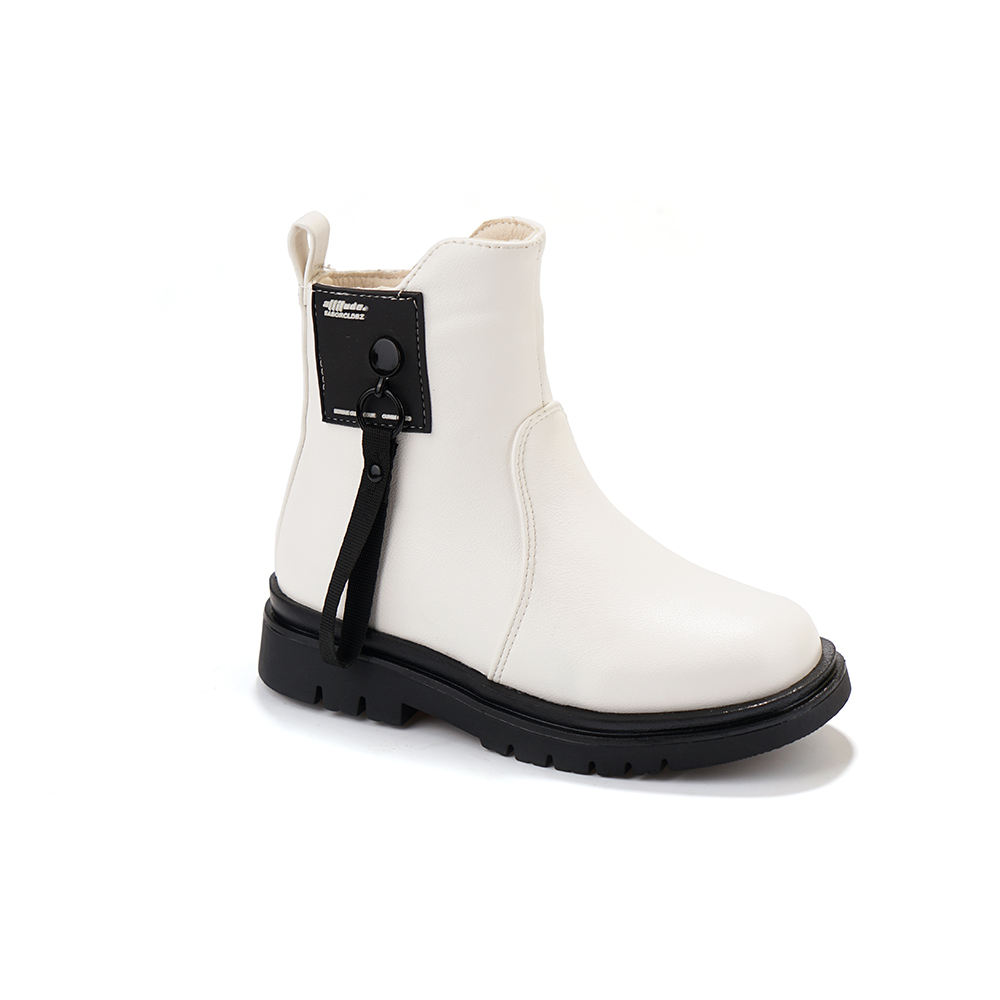 2021 new white martin classics chelsea boots for girls kids