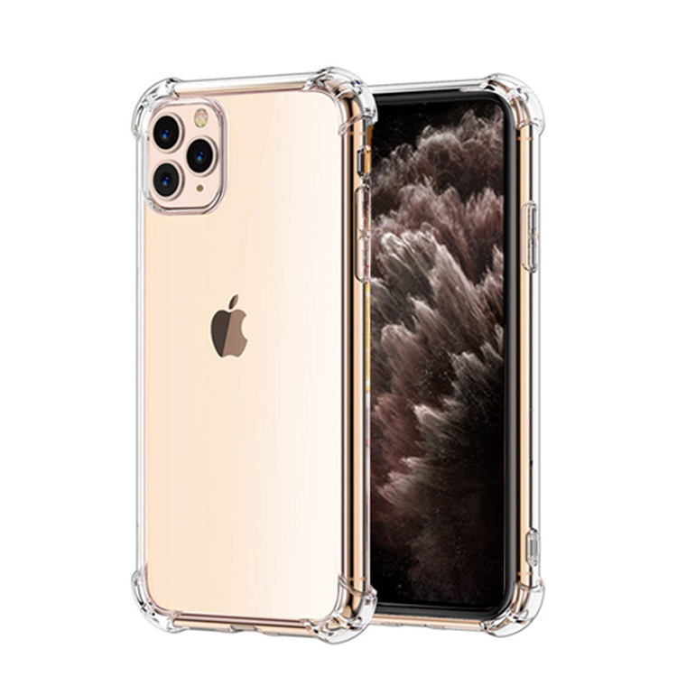 CYTLTB Case Transparantie Soft TPU Cover Voor iPhone X XR XS MAX TPU Mobiele Telefoon Case Voor iPhone 11