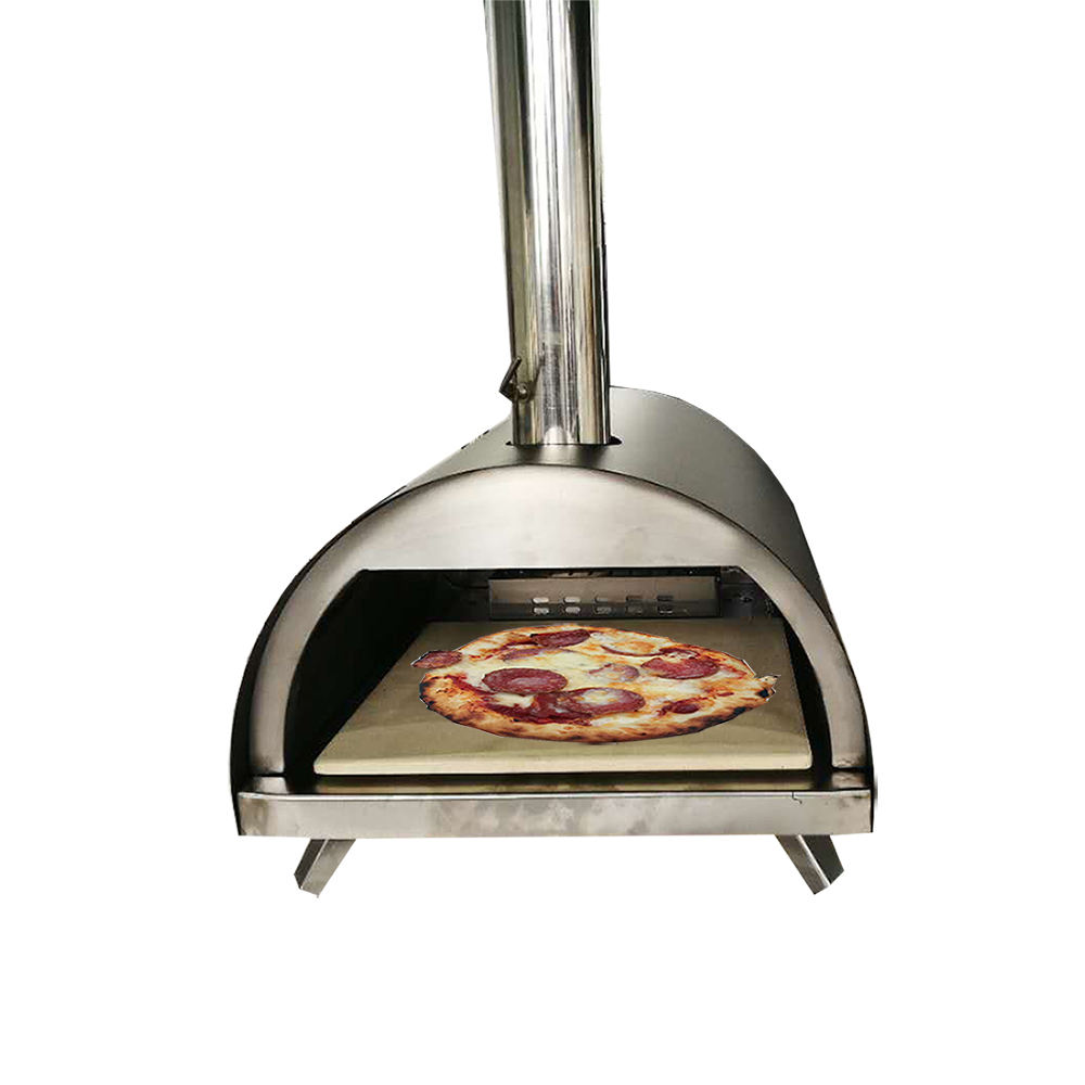 Warmfire OEM factory price 2020 new design pellet pizza oven wood pizza oven