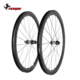 Horsecarbon 2019 hot sales disc-brake 350S hub 700c road bicycle T800 40mm tubeless offset carbon wheel bike 350D-D425AS-SL