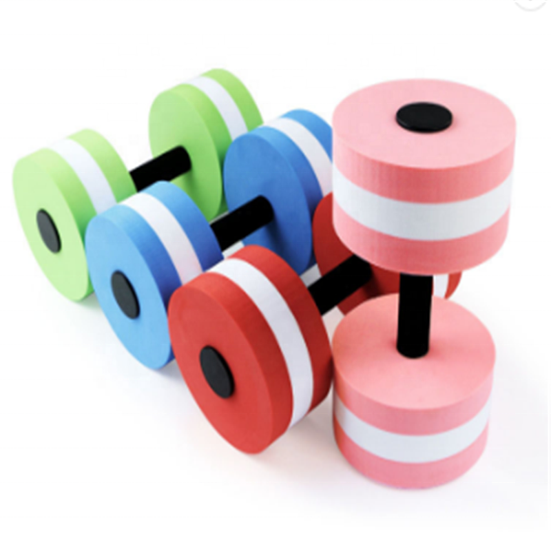 Factory EVA Foam Dumbbells Provides Resistance Aqua Dumbbell Water