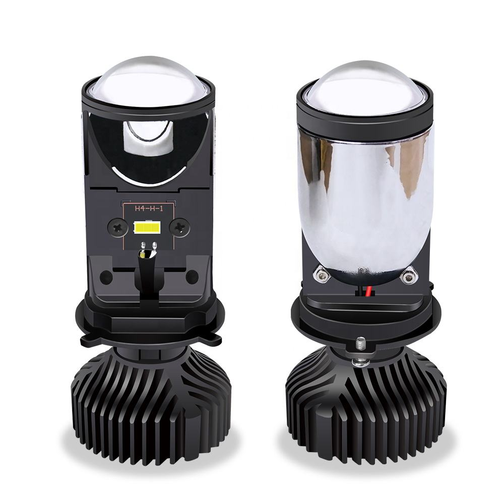 H4 Automobile LED Headlamp Mini Lens Far And Near Integrated Fisheye Headlamp Motorcycle Headlamp Dropshipping