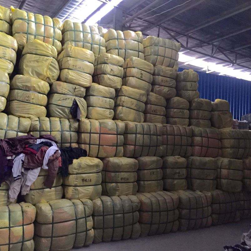100kg mixed bales used clothes