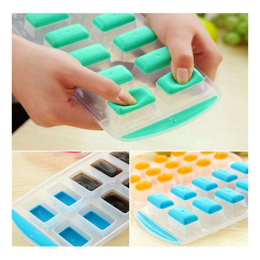 Leuke Silicone Chocolade Schimmel Maker Ijsbakje Freeze Mould Bar Pudding Jelly