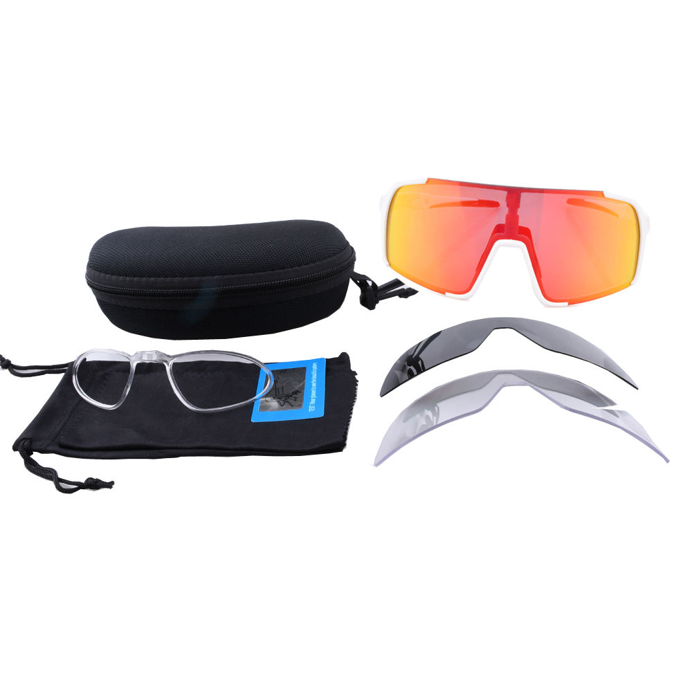 Free Design Custom Tr90 Frame Cricket Bike Big Lens Driving Fishing Oversize Polarised Photochromic Cycling Sports Sunglasses