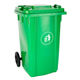 Hdpe [ Trash Cover Bins ] Bin Can Trash 100 Liter Durable Plastic Trash Can With Cover Trash Bins Dustbin