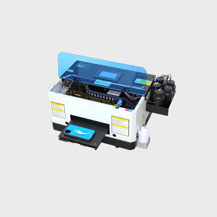 A5 Mini UV Printer 6 Colors Mobile phone printer For Epson L800 print head