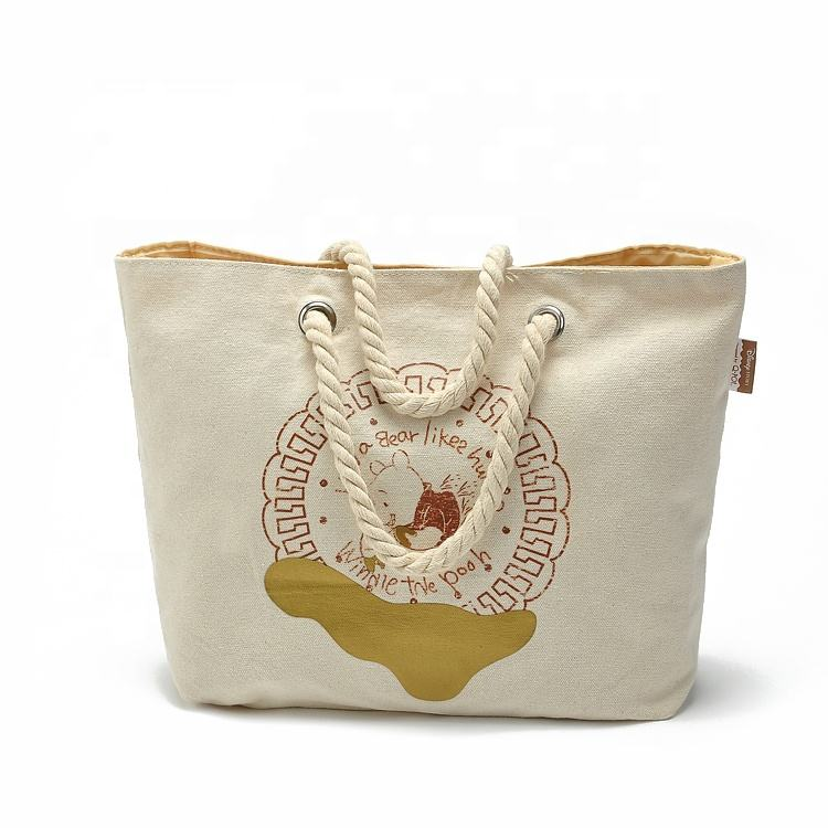 Wholesale Canvas women's bag wtih Fashion Deisn professional women's shoulder bag with embroidery