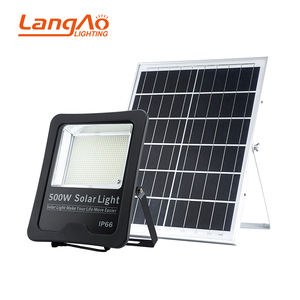Best quality IP66 waterproof outdoor square lighting smd 400w 500w led solar flood lamp