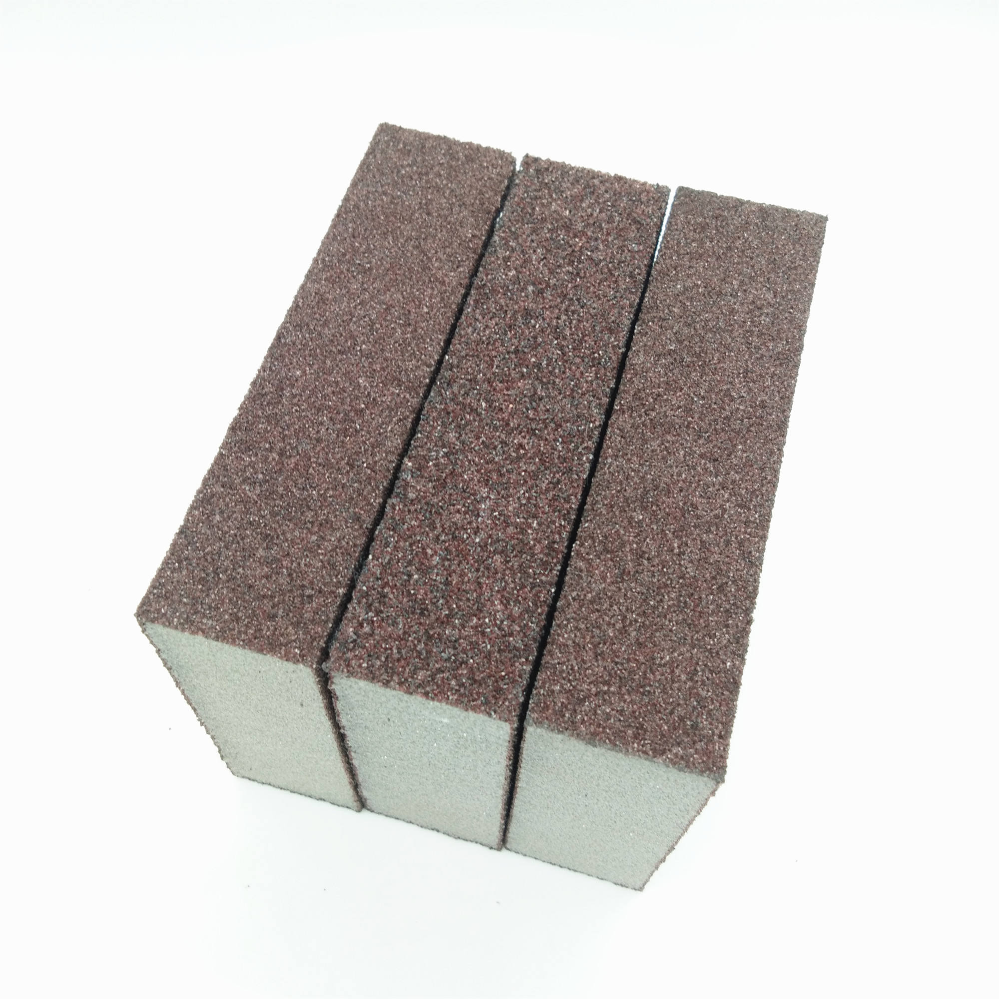 sharpness high density 100x70x25mm aluminium oxide abrasive sanding sponge