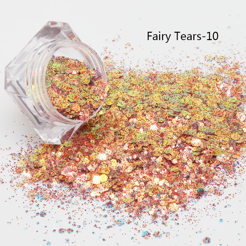 fairy tears chunky mix glitter powder fall glitter bulk glitter wholesale