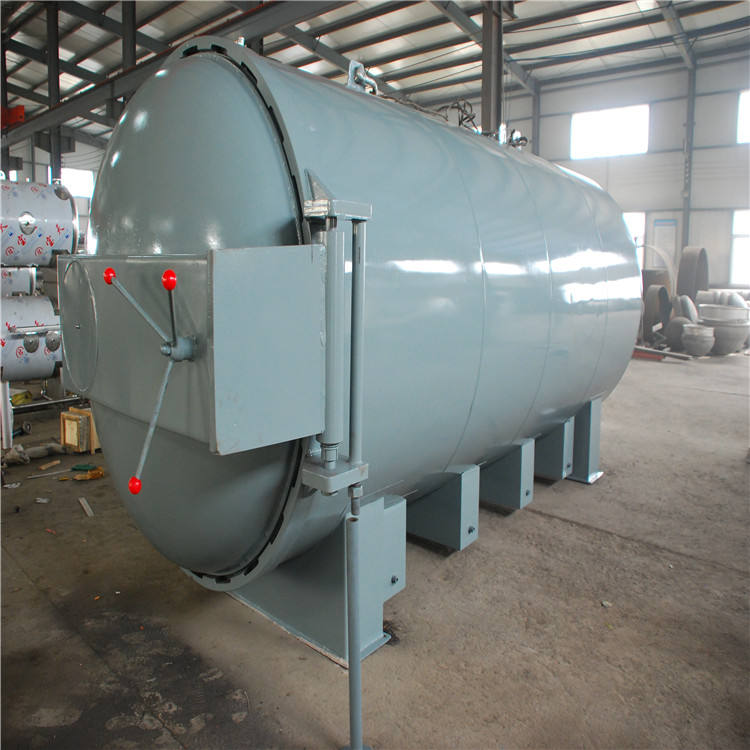 Automatic rubber products vulcanizer autoclave for rubber curing vulcanization tire retreading machine