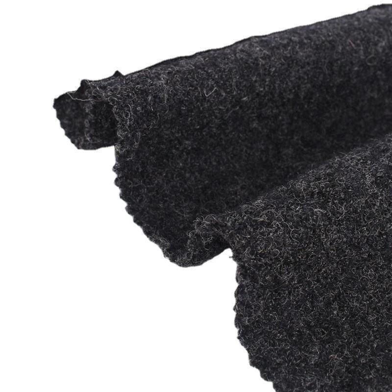 Customized 30%wool 70%viscose knitted fabric wholesale garment fabric