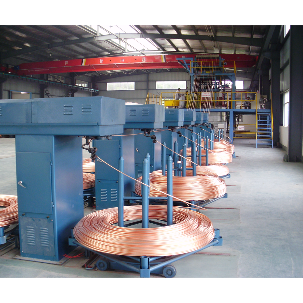 Copper Rod Copper Wire Continuous Upcasting Furnace Upward Casting Machine