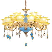 Large Gallery Chandeliers Crystal Chandelier Lamp Pendant Light For Dinning Room Kitchen Foyer Lighting